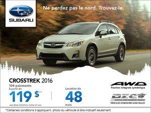 Louez le Subaru Crosstrek 2016 à partir de 119 $ aux deux semaines