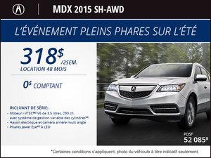 Acura MDX SH-AWD 2015 en location à partir de 318$ aux 2 semaines