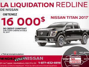 Nissan Titan 2017 en rabais!