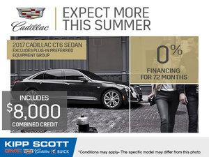 Save Big on the 2017 Cadillac CT6 Sedan!