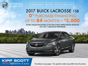 Save on the 2017 Buick Lacrosse Today!