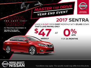 Get the 2017 Nissan Sentra