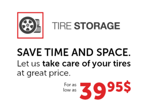Store your Tires at Spinelli