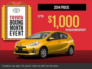 The Brand-New 2014 Toyota Prius is here!