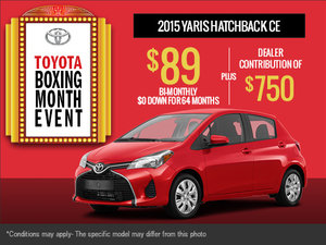 Get the new 2015 Toyota Yaris!
