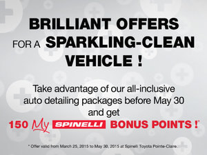 Brilliant offers for a sparkling-clean vehicle!