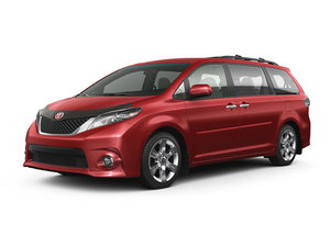 Lease the 2015 Toyota Sienna starting from $410 monthly