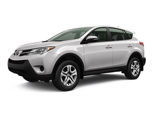 Drive the 2015 Toyota RAV4 for as low as $279 per month