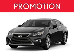 New Lexus ES Promotion Montreal