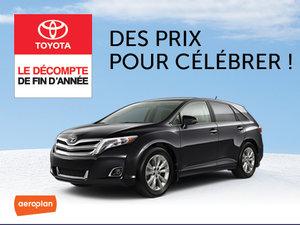 Toyota Venza neuf en promotion à Montréal