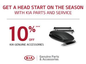 10% on all Genuine Kia Accessories
