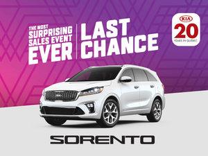 New Kia Sorento deals in Montreal