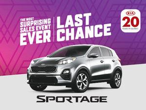 New Kia Sportage deals in Montreal