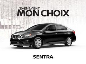 Nissan Sentra neuf en promotion à Montréal