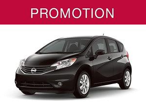 Nissan Versa Note neuf en promotion à Montréal