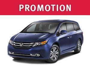 Honda Odyssey en promotion à Montréal chez Spinelli Honda
