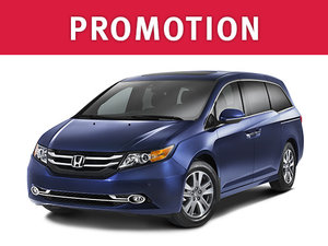 Honda Odyssey Deal in Montreal at Spinelli Honda