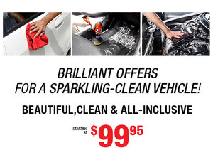 Brilliant Offer on our Spring Detailing Package