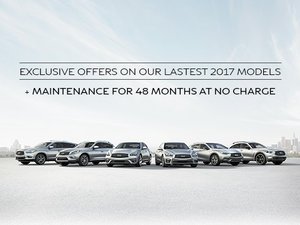 Exclusice Promotions on all 2017 models