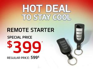 Special Offer - Remote Starter