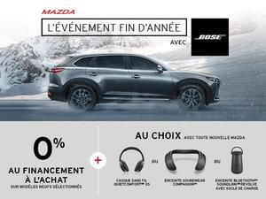 L'Événement de fin d'année Mazda avec Bose