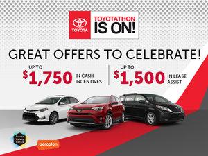Toyotathon is on!