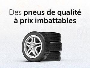 Achetez 4 pneus au meilleur prix