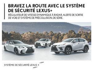 Découvrez le système de sécurité+ de Lexus