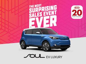 Kia Soul EV deals in Montreal