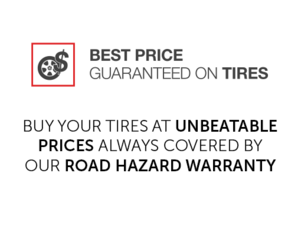 Best Price Guaranteed on Tires