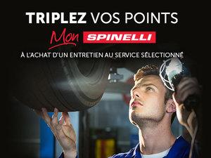 Triplez vos points Mon Spinelli