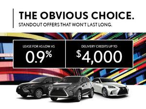 Lexus - The Obvious Choice