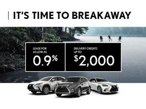 Lexus - It's Time to Breakaway