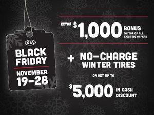 Kia's Black Friday Sales Event