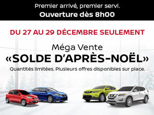 Mega Vente Solde d'Après-Noël