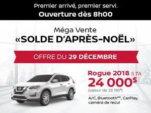 Grande Vente Boxing Week - Offre Nissan Rogue