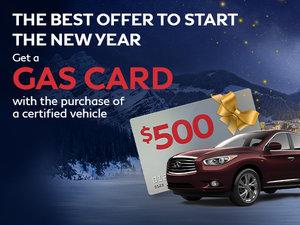 Get a $500 gas card
