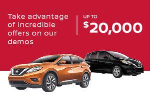 Nissan Demo Sales Event