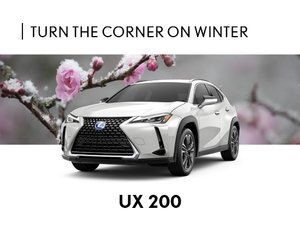 New Lexus UX Promotion Montreal