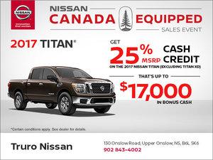 Buy the New 2017 Titan Today!