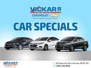 Vickar Community Chevrolet Car Specials