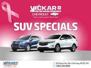Vickar Community Chevrolet  SUV Specials