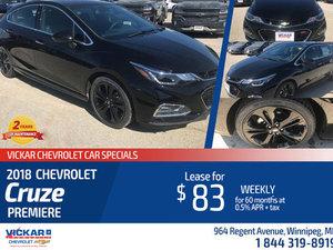 2018 Chevrolet Cruze Premiere
