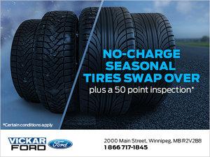 No-Charge Season Tire Change!