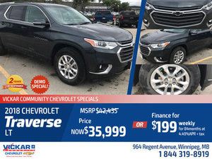 2018 Chevrolet Traverse LT #JT7430
