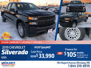 2019 Chevrolet Silverado 4x4 #KT8495