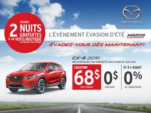Louez le nouveau Mazda CX-5 2016