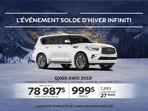 QX80 AWD 2019