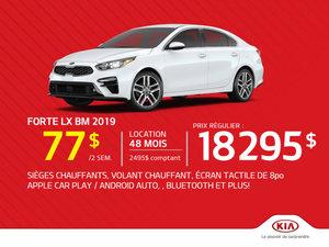 La Forte LX BM 2019 - À partir de seulement 77$ par semaine!
