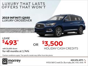 2019 QX60 Luxury Crossover